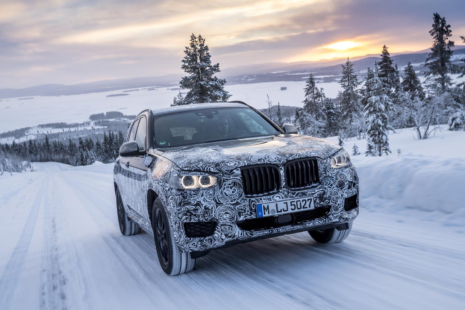 Foto de BMW X3 2018 camuflaje (8/16)