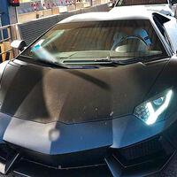 El colmo de la imprudencia: un futbolista detenido por conducir un Lamborghini Aventador sin carnet y con uno falso