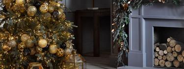 La Navidad es época de excesos (decorativos) y los rojos, dorados y los brillos nunca son demasiado