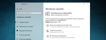 Windows 10 May Update 2019: cómo actualizar sin esperas