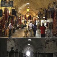 Siria: cinco años de guerra y la huella de la destrucción en 13 imágenes comparativas
