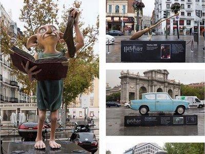 Madrid amanece invadida por el universo Harry Potter
