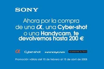 Descuentos de la mano de Sony