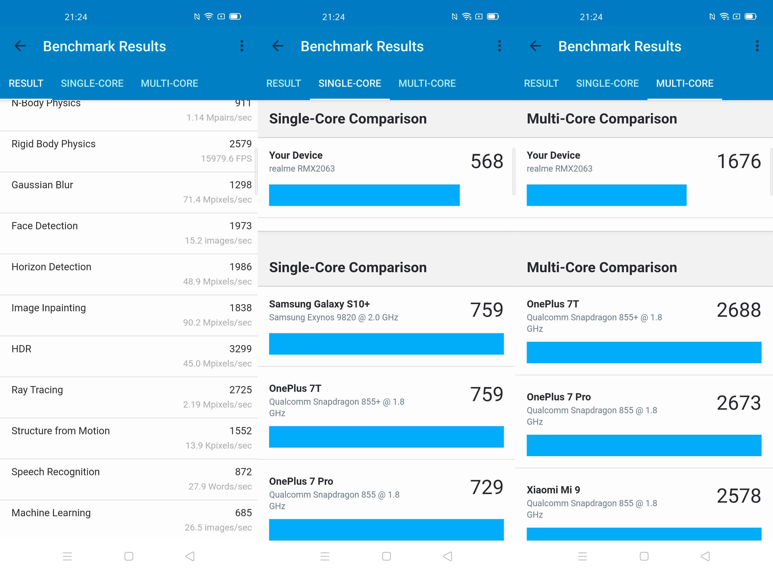 Foto de Realme 6 Pro, benchmarks (5/6)