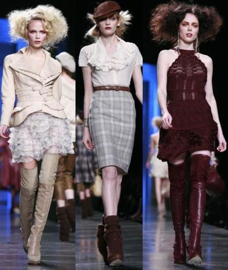 Christian Dior Otoño-Invierno 2010/2011 en la Semana de la Moda de París