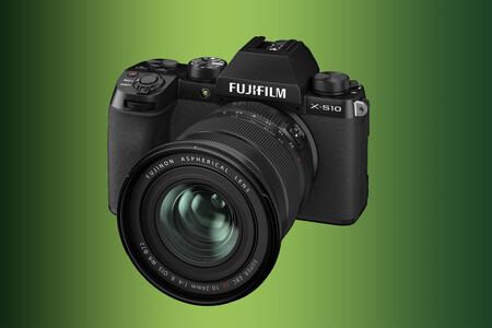 Fujifilm X-S10, nueva sin espejo de cuerpo compacto y estabilizador integrado que inaugura una nueva gama