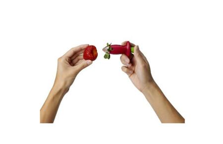 removedor tallo fresas