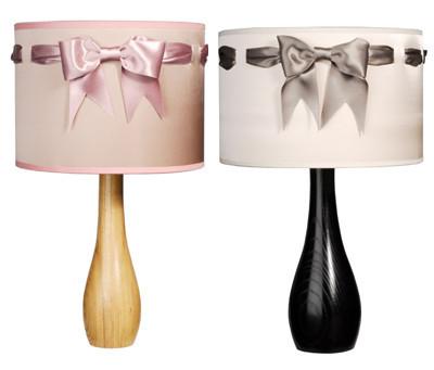 Isabel Stanley: elegantes lámparas con satén