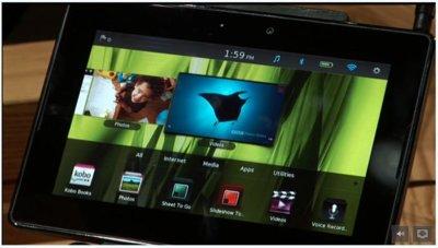 BlackBerry PlayBook, primera demostración en vídeo