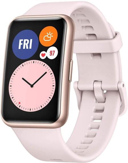 El Huawei Watch Fit Esta Rebajado 50 Euros En Amazon La Mejor Opcion Para Llevar Un Reloj Bonito Y Funcional