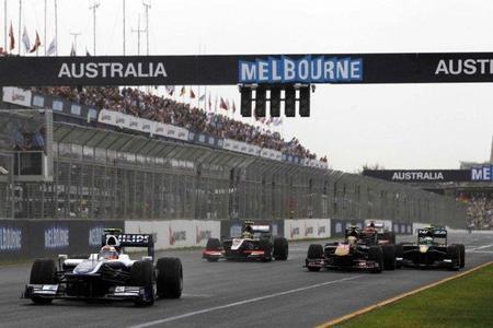 Doble zona de DRS para el Gran Premio de Australia 2012