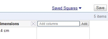 Guardar busquedas con google squared