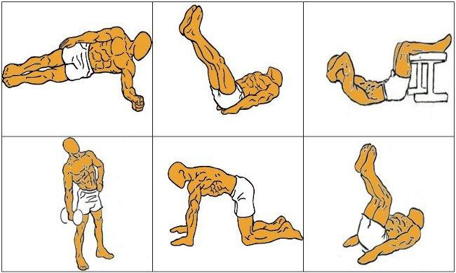 Ejercicios para bajar estomago hombres