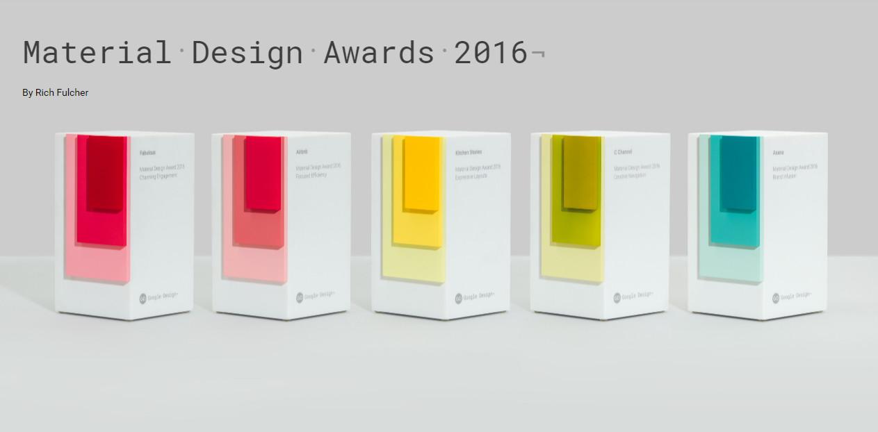 Así son las aplicaciones con mejor interfaz Material Design de 2016