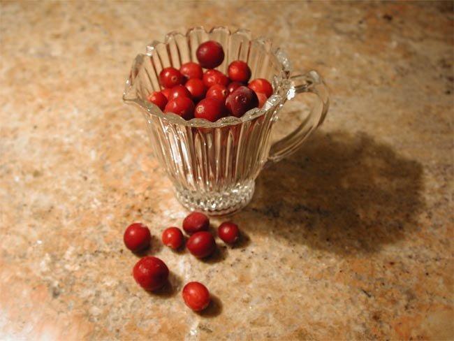 Propiedades adelgazantes del zumo de arándanos rojos