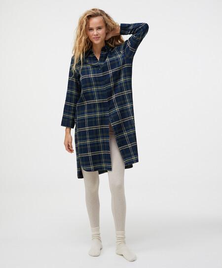 Pijama Tartan Navidad Oysho 00006