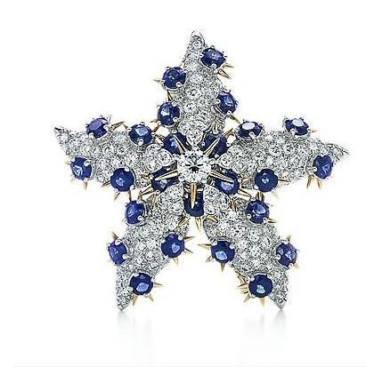 Broche Estrella de Mar, Tiffany