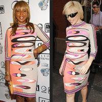 Vestido Pucci:  ¿Mary J. Blige o Kylie Minogue?