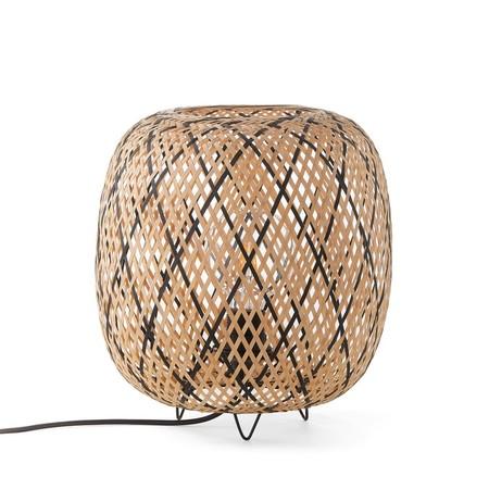 Lampara De Mesa De Bambu Katia