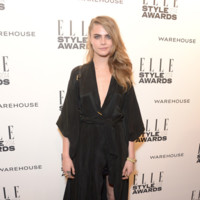 Cara Delevingne Elle Style Awards 2014 red carpet