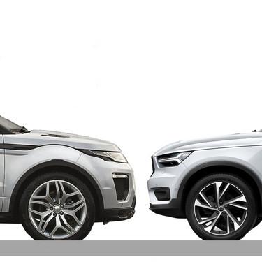 Comparativa Range Rover Evoque vs Volvo XC40: ¿cuál es mejor para comprar?