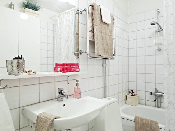 Baño de estilo nórdico