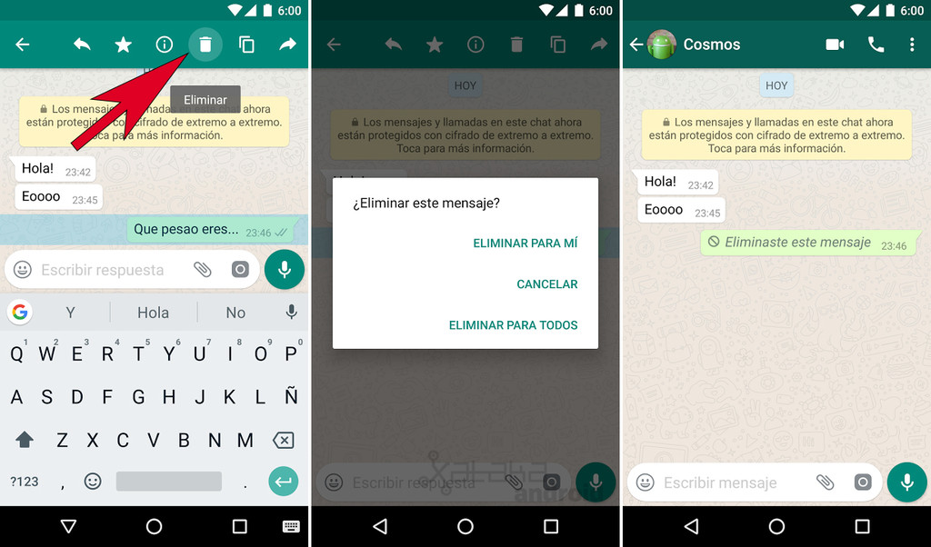 Whatsapp Supprimer