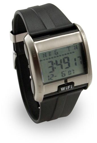 Wi-Fi Detecting Watch, detección de Wi-Fi en el reloj