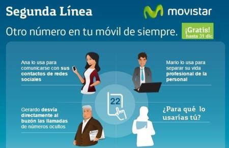 Movistar sube el precio de la multiSIM y empieza a cobrar por el servicio Segunda Línea en enero