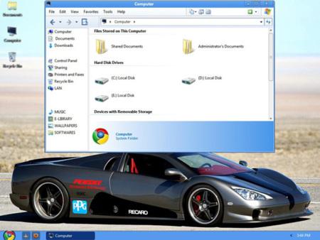 Convierte XP en Chrome OS