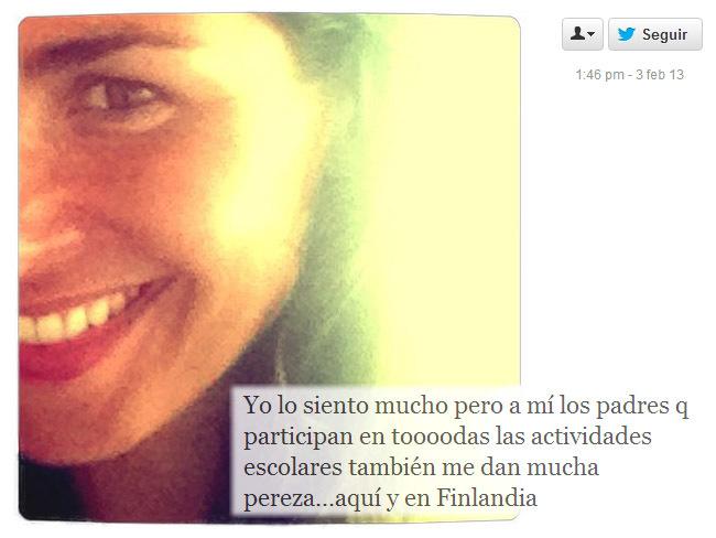 Nuria Roca, Finlandia y el Twitter