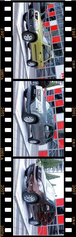 Generaciones del Honda CR-V