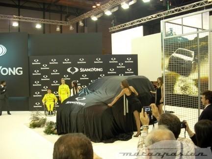 SsangYong presenta el coche de Isidre Esteve en el Salón de Madrid