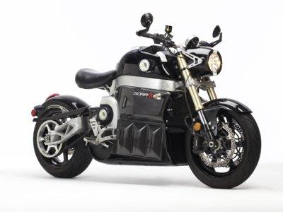 Lito Sora, la moto eléctrica del futuro que le gustaría al Juez Dredd del presente
