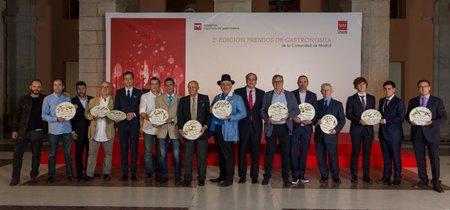 Los Premios de Gastronomía de la Comunidad de Madrid son cosa de 11 hombres (con media excepción)