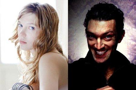 Léa Seydoux y Vincent Cassel serán la bella y la bestia en lo nuevo de Christophe Gans