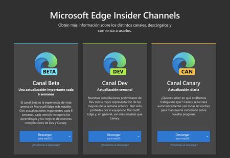 Edge en el Canal Dev se actualiza: llega el soporte para autenticación biométrica, compatibilidad con HTTPS automático y más