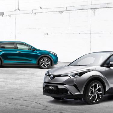 Comparativa Kia Niro Hybrid vs Toyota C-HR: ¿cuál es mejor para comprar?