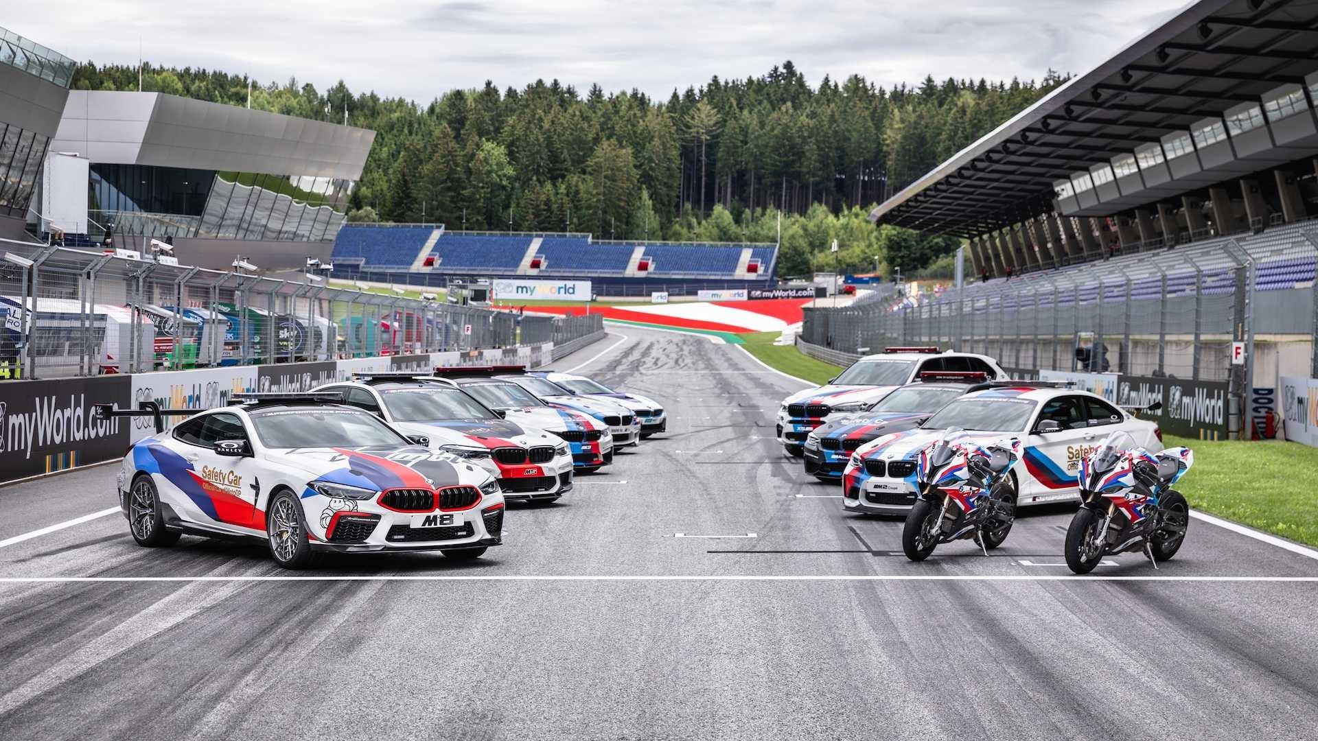 Foto de BMW M8 MotoGP Safety Car (1/8)