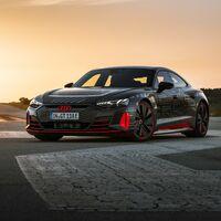 El Audi RS e-tron GT será el primer RS 100% eléctrico, y ya muestra algunos de sus detalles