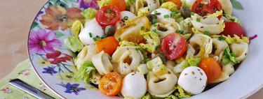 Ensalada italiana de tortellini: receta para una ensalada de pasta diferente