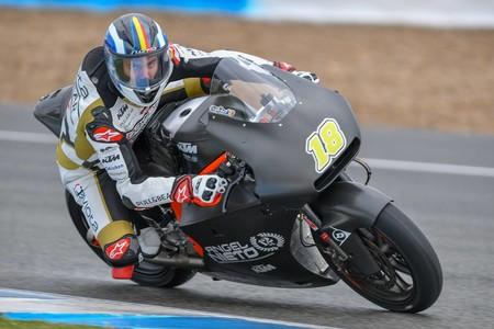 Xavi Cardelus Moto2 Test Jerez 2018