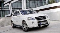 El Mercedes-Benz ML 63 AMG recibe un lavado de cara