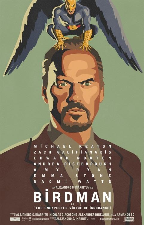 Foto de 'Birdman (o la inesperada virtud de la ignorancia)', carteles (1/15)