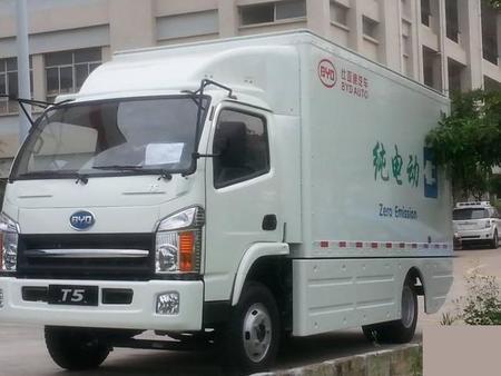 BYD T5, ahora a por los camiones eléctricos