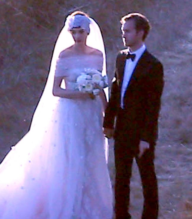Anne Hathaway boda novia