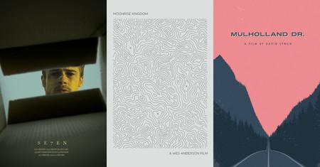 Los carteles de 365 películas, reimaginados en deliciosos diseños minimalistas