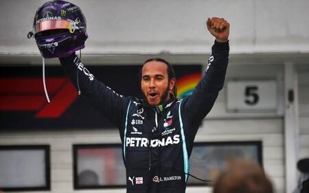 Hamilton Mercedes F1 2020