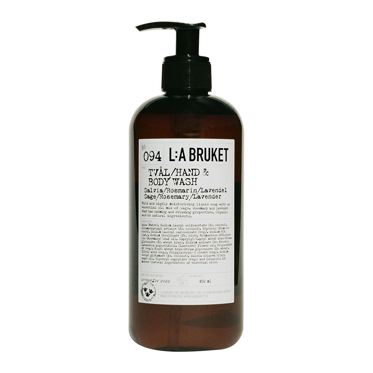 Jabón líquido Rose Mary Lavander La Bruket