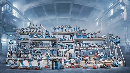 Descuentos de hasta el 25% en herramientas profesionales Bosch: taladros, amoladoras o medidores láser rebajados